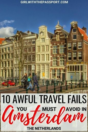 Planning for your first time in Amsterdam? Great because Amsterdam is an amazing city. But before you go, check out this essential list of ten all too common Amsterdam travel mistakes. Check this post out to help you plan the perfect Amsterdam vacation.