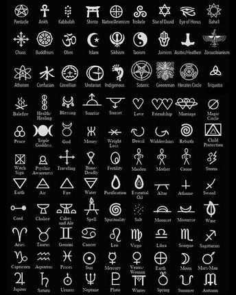 Magical Symbols. Symbols are a huge part of any earth-based practitioner's arsenal. Symbols can be used to infuse energy by means of…