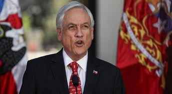 Piñera anuncia projeto para mudar Constituição do Chile