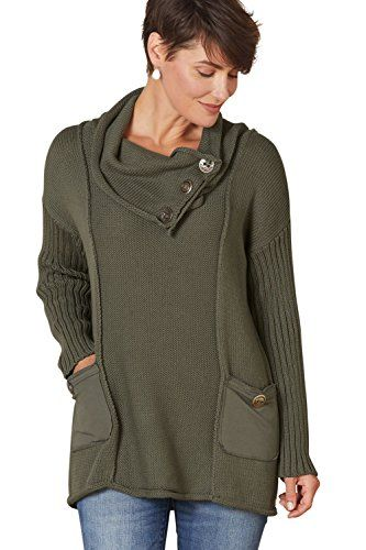 Pure Handknit Waverly Mixed Media Relaxed Fair Trade Pullover S Fern * Find out more about the great product at the image link.-It is an affiliate link to Amazon. #fashionsweaters