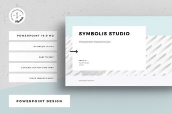 Handsup - Keynote Template by AQR Studio #powerpoint #pres