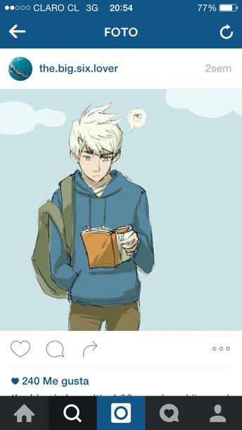 Jack Frost x older Jamie <3