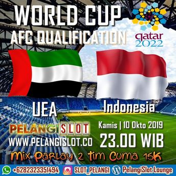 World Cup AFC Qualification UEA VS Indonesia