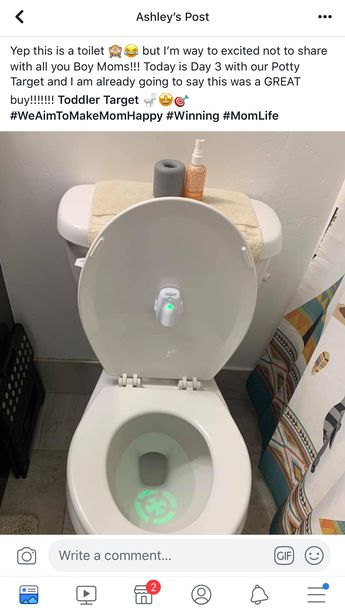 #Pottytraining #boys #son MOMMIES 🤩🤪THIS WOULD BE FUN & Cool To Your Little Toddlers. to Practice Aiming . . . Google where to find it