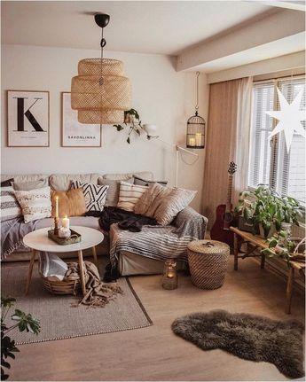 ❤76 comfy scandinavian living room decoration ideas 44