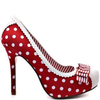 ❦ Dots Dots Dots Hee #formal #women #shoes fashion formal womens shoes