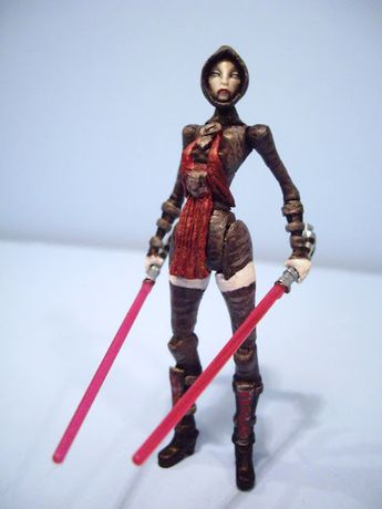 Sith Assassin Asajj Ventress with a Night Sister