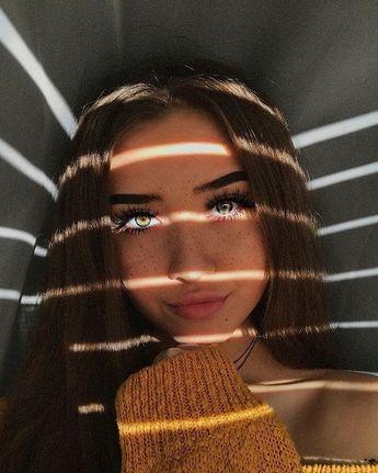 Selfies jugando con la luz ¡perfectas para tu foto de perfil!