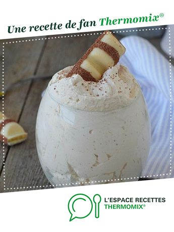 Mousse au kinder bueno par lamouette39. Une recette de fan à retrouver dans la catégorie Desserts & Confiseries sur www.espace-recettes.fr, de Thermomix<sup>®</sup>.