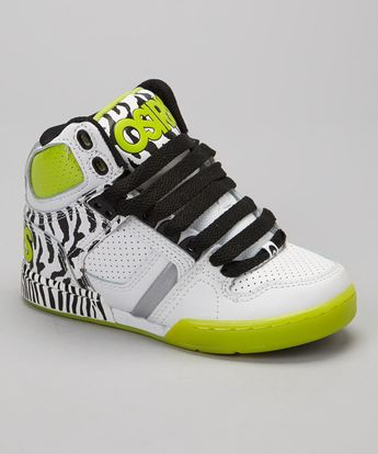 f8342ea436 Take a look at this Osiris Shoes Black & Lime NYC 83 Sneaker on zulily today