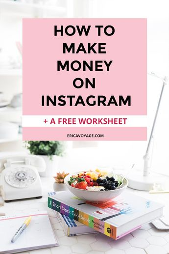 How to Make Money on Instagram? Instagram is a fantastic social platform for promoting products and services to sell or to collaborate with brands.