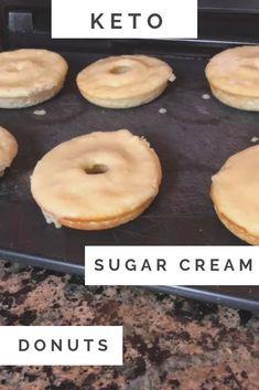 Keto Donuts - Sugar Cookie Flavor