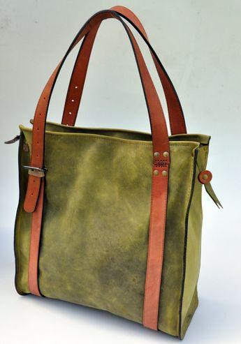 CIBADO leather bags Entirely hand sewn teal buffalo leather 10f8437a86dff