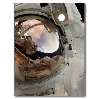 Astronaut Postcard   Zazzle.com