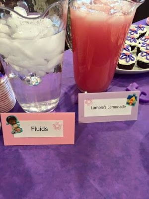 Doc McStuffins Birthday Party Pic 7 Of 14 Food Ideas