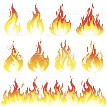 Various fire elements