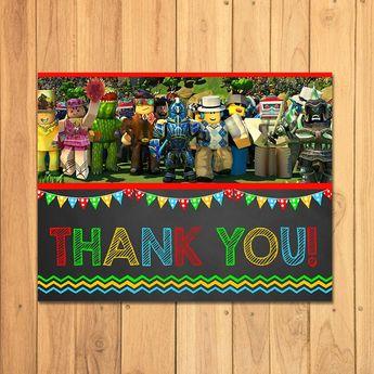 Roblox Thank You Card Chalkboard