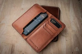 MORPH Premium iPhone 5S Leather Wallet Case by MORPHLeather, ฿2500.00