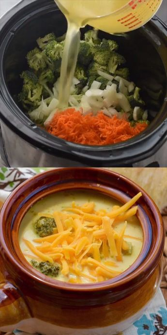 This Soup has gotten RAVE reviews! It's easy to make and so delicious! #slowcooker #soup #crockpot