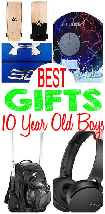 BEST Gifts 10 Year Old Boys Will Love Fun Creative Unique Presents For