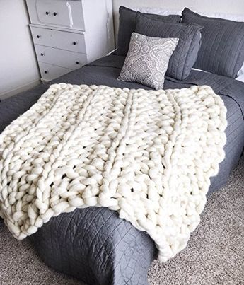 Amazon Price Tracking and History for: Arm Knit Wool Chunky Blanket - (B01M2YJWII)