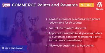 WooCommerce Points and Rewards - WordPress Plugin #WooCommerce #WordPress #Plugin