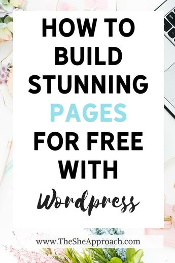 How To Create Free Landing Pages In WordPress