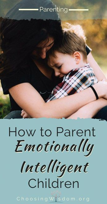 How to Parent Emotionally Intelligent Children - Choosing Wisdom
