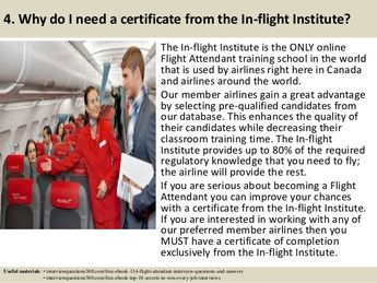 ebook: 80 flight attendant interview questions, supported