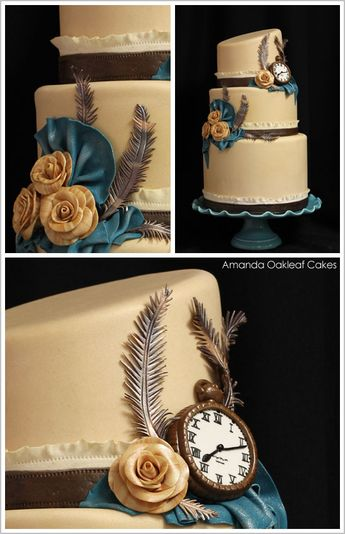 Victorian Steampunk Cakes