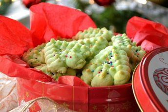 Almond Spritz Press Cookies Recipe  - Food.com