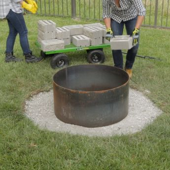 DIY This Super Easy Fire Pit
