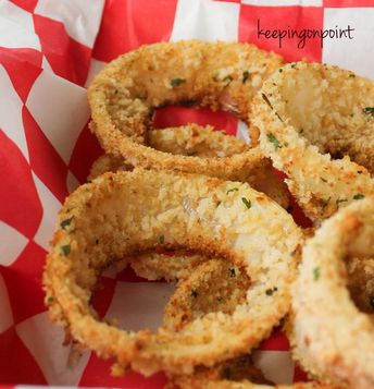 Baked Onion Rings - Weight Watchers Freestyle