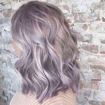 pastel purple lavender hair color ideas