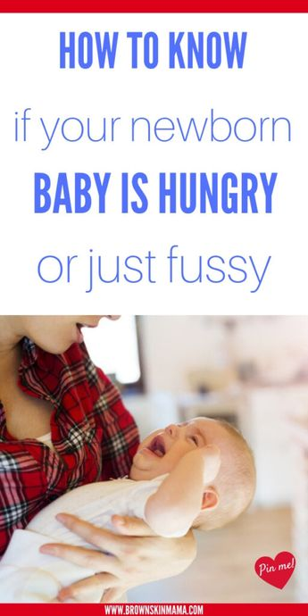 Baby Hunger Cues You Need To Know About | Baby | Brown Skin Mama