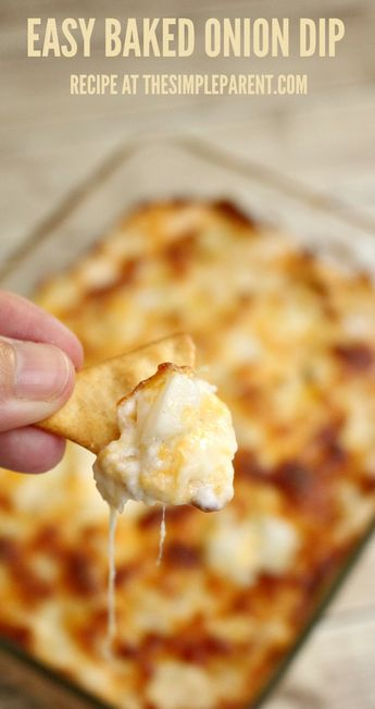 Baked Cream Cheese Onion Dip