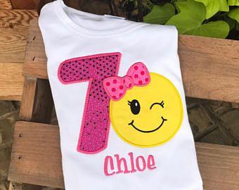 Emoji Shirt Birthday Boy Emojishirt