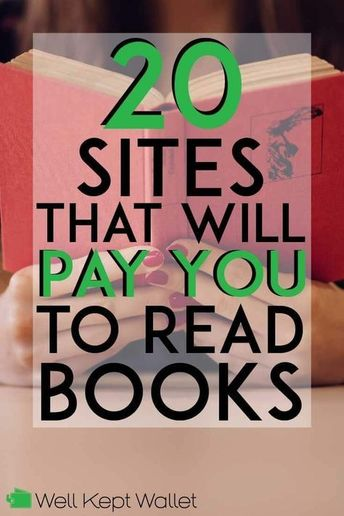 15 Legit Sites That Will Pay You to Read Books