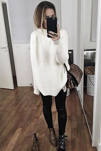Sweaters Outfit Idea You Should Try This Year (106)