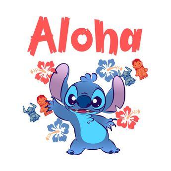 Aloha - Lilo And Stitch - T-Shirt | TeePublic