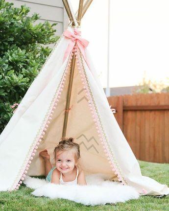 Comment fabriquer un tipi - 60 idées pour une tente indienne sympa