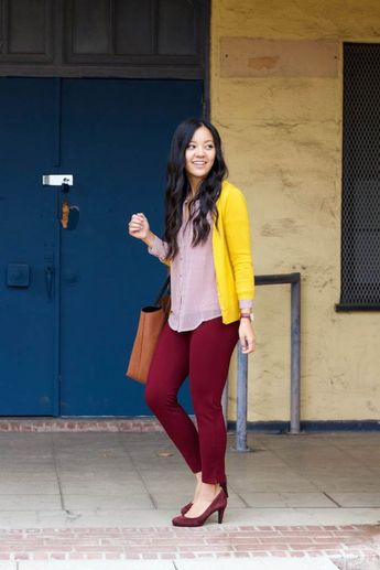 Styling a Top for Work and Play + Crazy Comfy Pants and Cute Frayed Hem Jeans