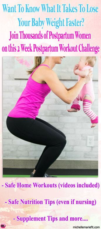 14 Day Postnatal Workout Plan For Losing BABY WEIGHT and getting body  back.Home workouts