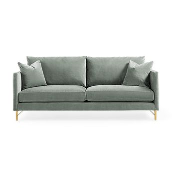 Miraculous White Tufted Sofa 3 Seater Upholstered Article Parker Pdpeps Interior Chair Design Pdpepsorg