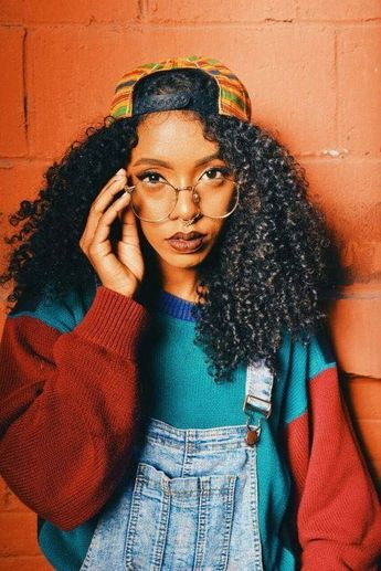 Let the Fluffy Fabulous Curls, Coils, and Kinks Inspire You