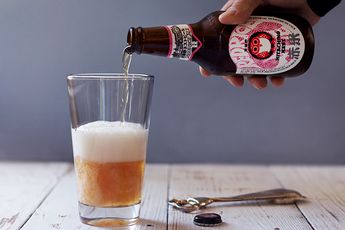 Hitachino Nest Red Rice Ale | HonestlyYUM