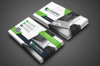 Office PSD Business Card 002816 - Template Catalog