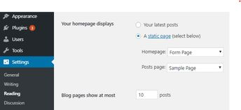 Use a Custom Homepage
