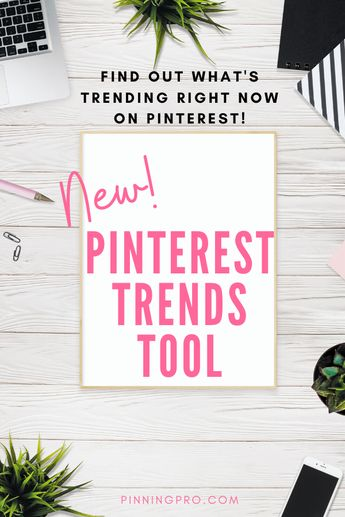 Learn How To Use The New Pinterest Trends Tool To Find More Out About Your Target Market!