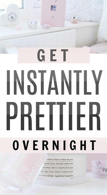Exact secrets to look pretty overnight